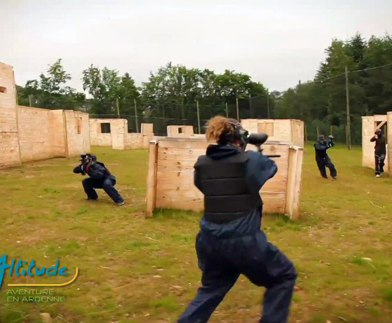 Paintball en terrain urbain