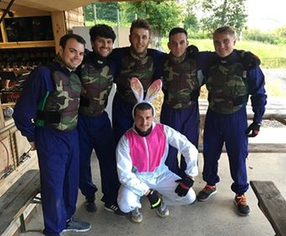 Paintball groupe